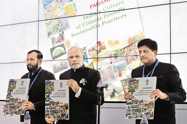 India's climate leadership at paris